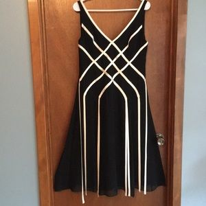 Adrianna Papell silk dress- EUC